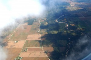 Iowa, from the air