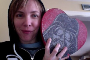 darth vadar chocolate box